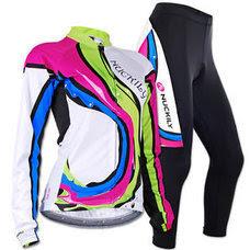 ชุดขี่จักรยานแขนยาวขายาว ผู้หญิง 2015
