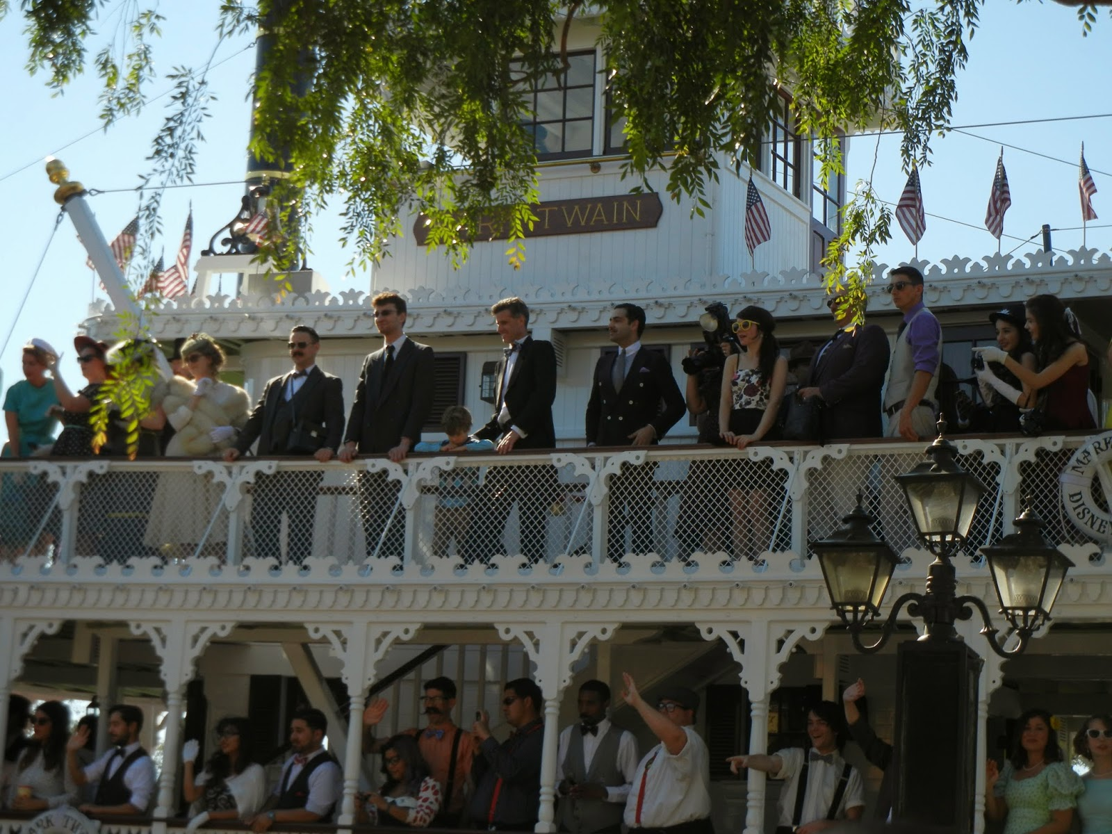 Mark Twain at Dapper Day Spring 2014