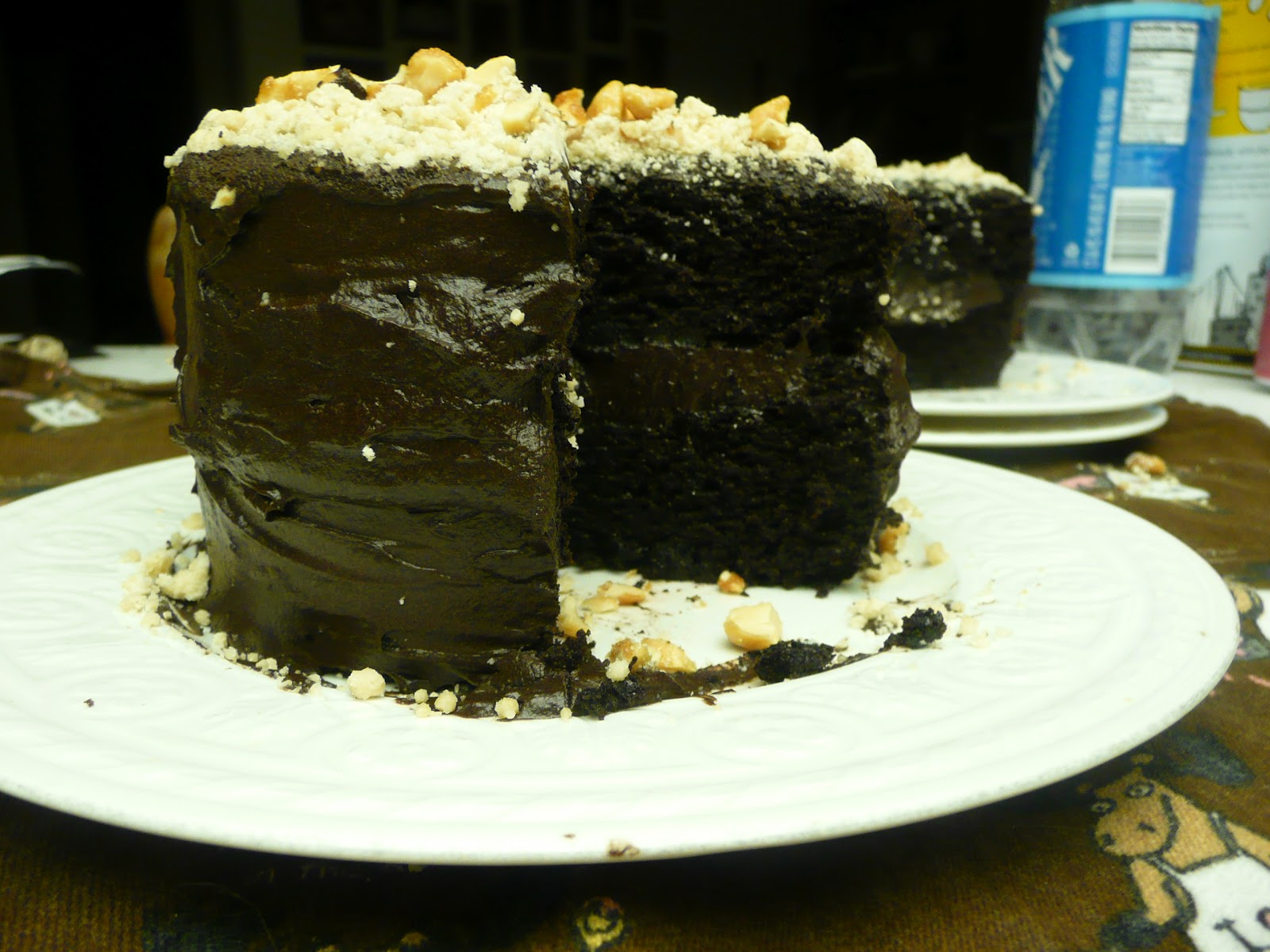 Chocolate Layer Cake | Lindzer Torte