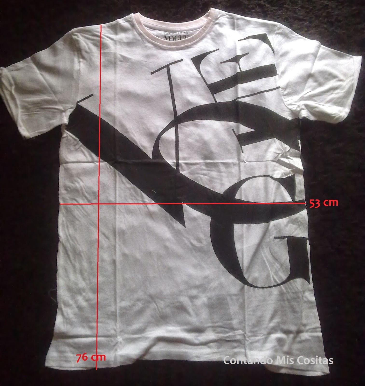 camiseta vogue julio 2014