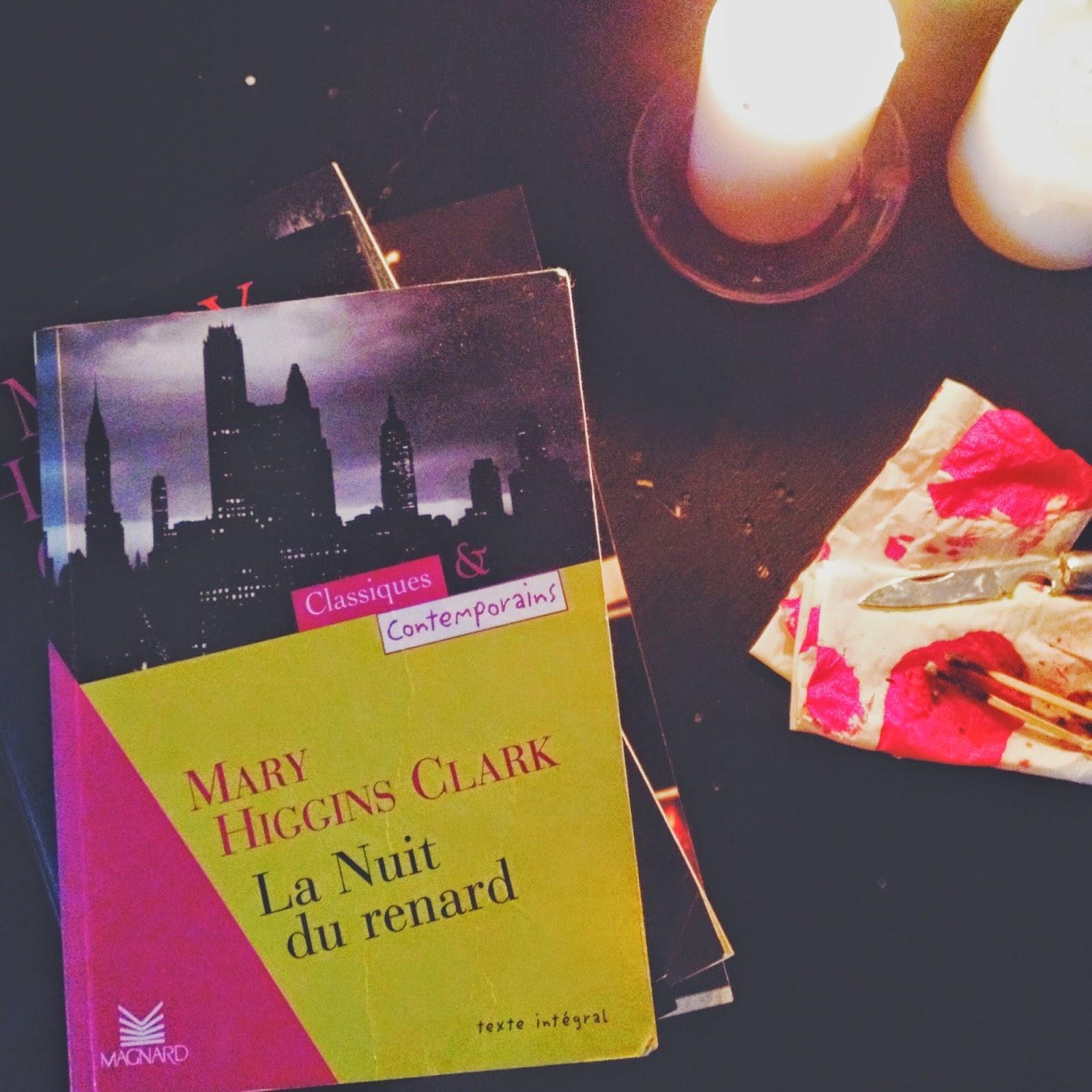 La nuit du Renard Mary Higgins Clark