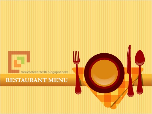 Restaurant menu vector graphics