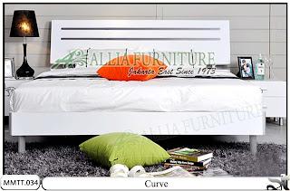 Tempat Tidur Minimalis Modern Curve 160 X 200