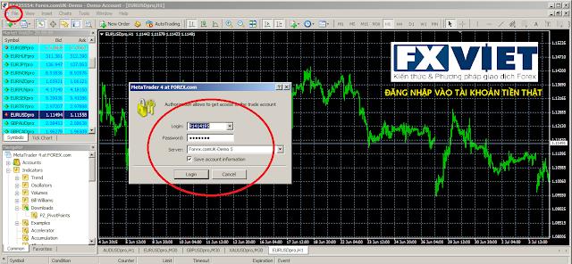 Hướng dẫn cài đặt phần mềm giao dịch Forex MT4 - Metatrader4