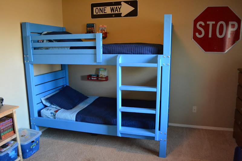 building bunk beds before babyu0027s birth