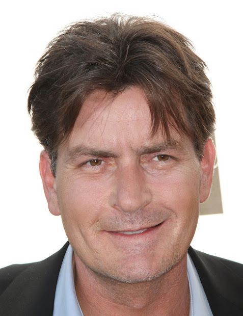 chatter busy charlie sheen hair