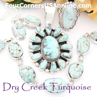 Four Corners USA Online Native American Jewelry Store Dry Creek Turquoise