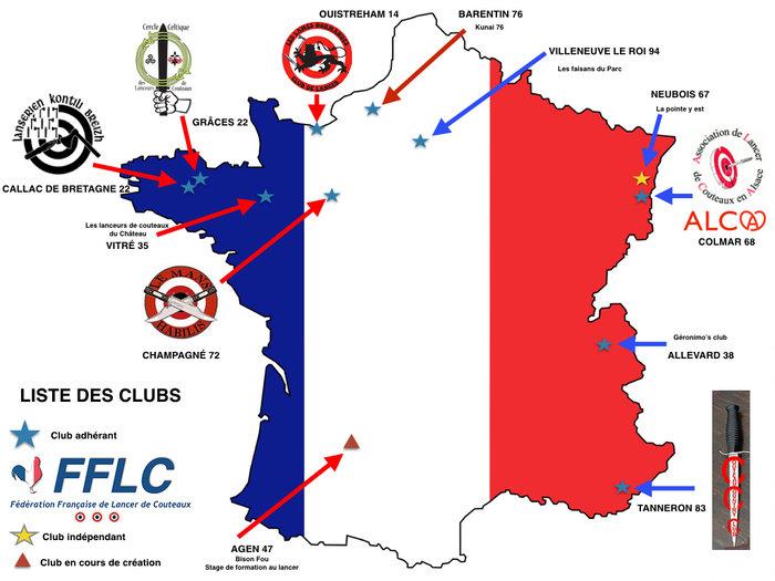 LES CLUBS FRANCAIS