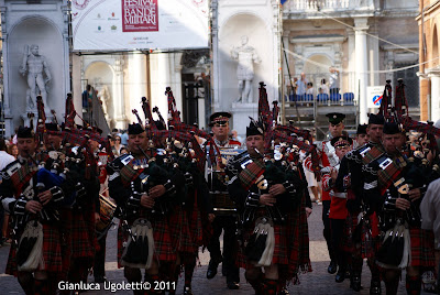 The Pipes and Drums of the 1st Battalion Scots Guards