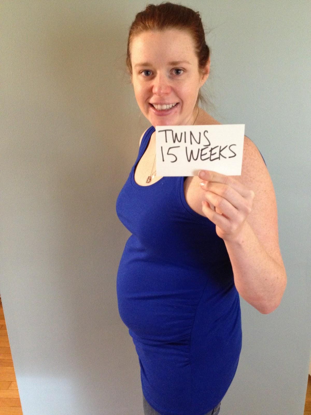 Twins pregnancy 15 weeks