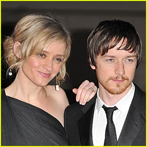 James McAvoy and wife Anne-Marie Duff prefer relaxing at home to glitzy events