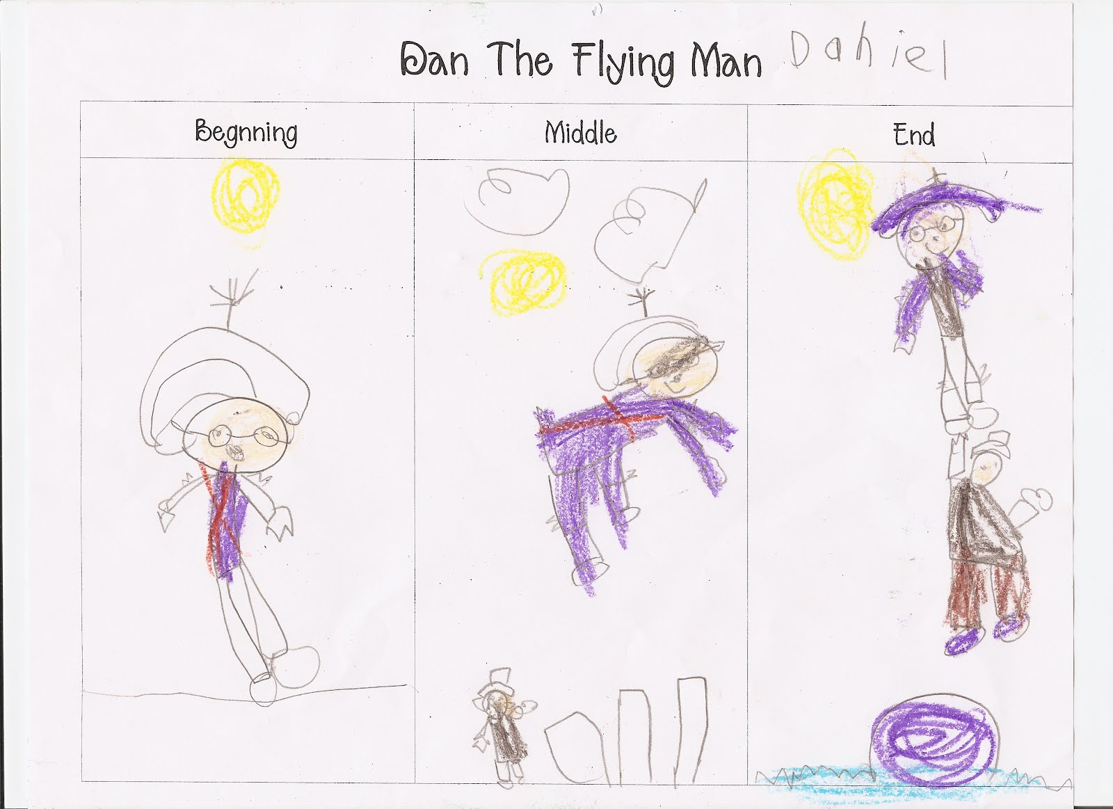 Sterup Pants: Dan the Flying Man