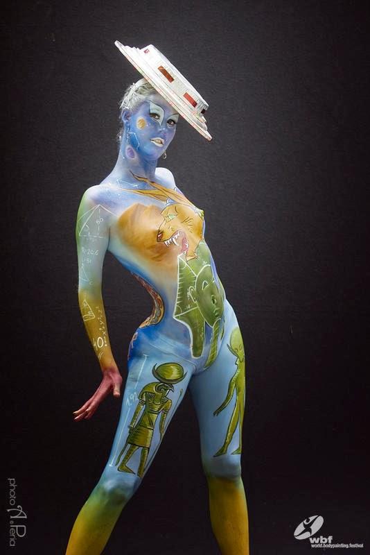 Kumpulan Foto Body Painting 6