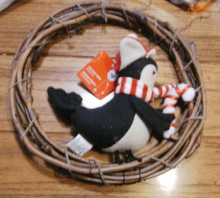 Penquin Wreath