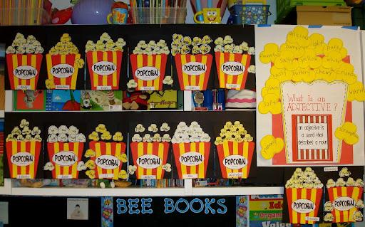 Popcorn word wall ideas learningenglish esl