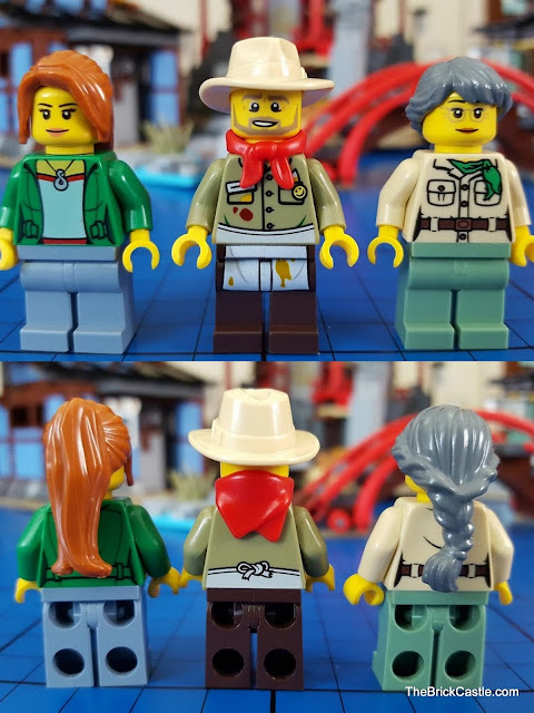 LEGO Ninjago Temple Of Airjitzu Claire Jesper Misako