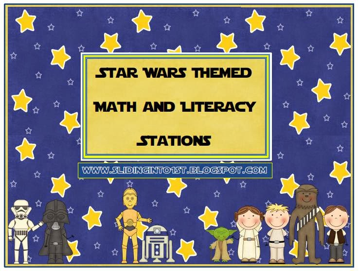 http://www.teacherspayteachers.com/Product/Star-Wars-Math-and-Literacy-Centers-232199