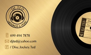~~ DJ TED ~~ Weddings and More