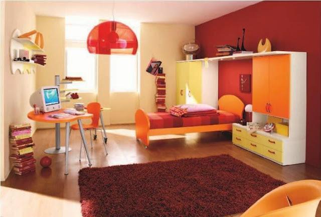 interior design ideas bright colors