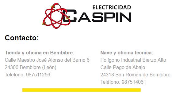 ELECTRICIDAD CASPIN