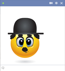 Charlie Chaplin Emoticon