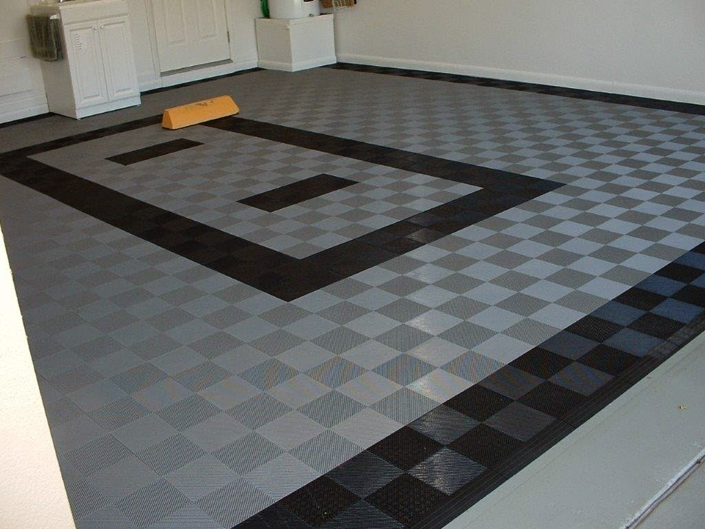 Interlocking garage floor tiles of the garage flooring for Garage floor ideas cheap