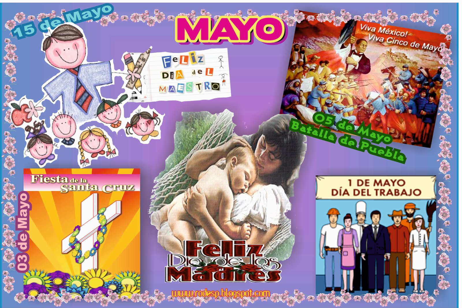 Periodico Mural De Mayo