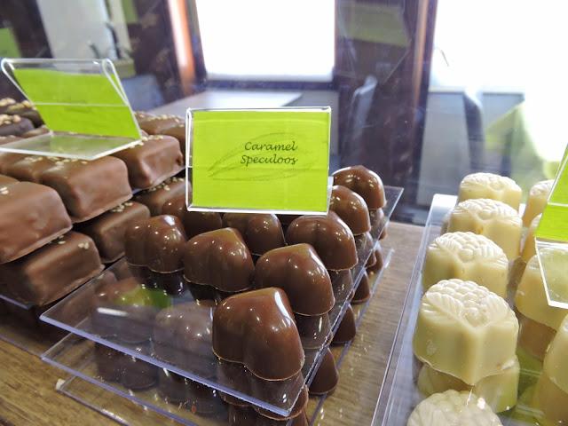 Chocolat caramel spéculoos