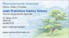 JUAN FRANCISCO CÁNTOS-Representante viveros