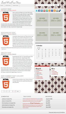 batik wordpress theme