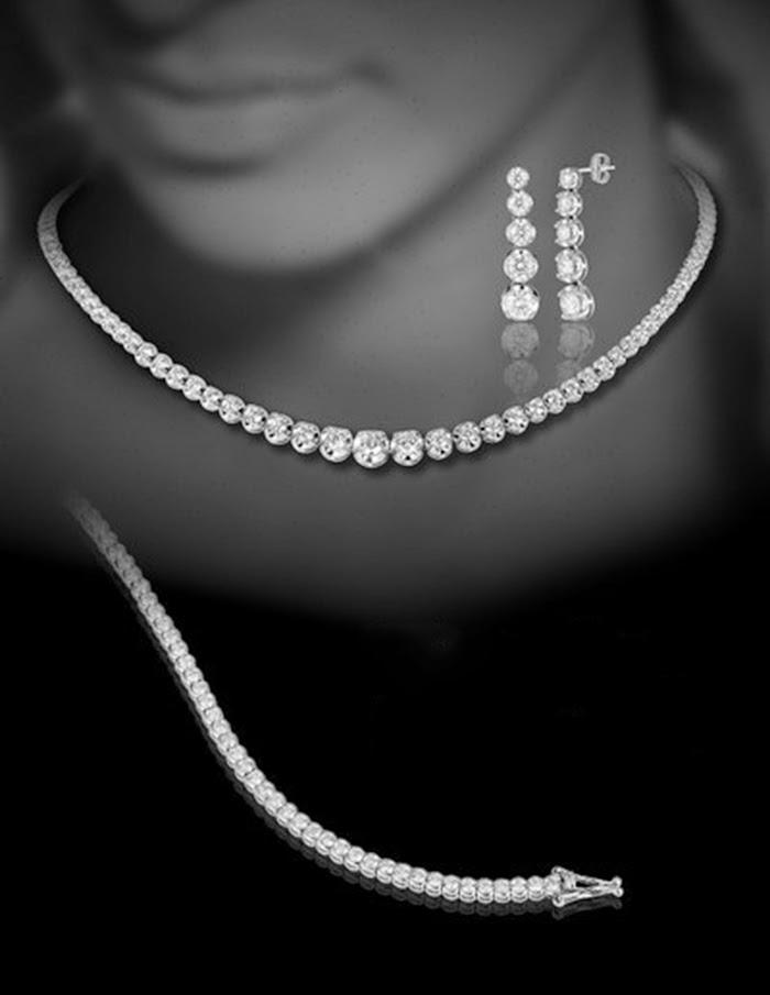 parure diamanti