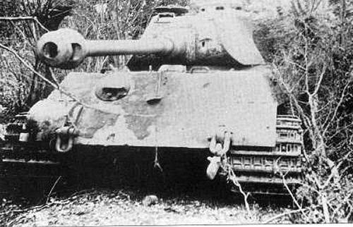 Panzerkfwagen vi tiger ii ausf