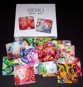 Neues Memo-Spiel 2. Edition der Künstlerin Heidemarie Rothe