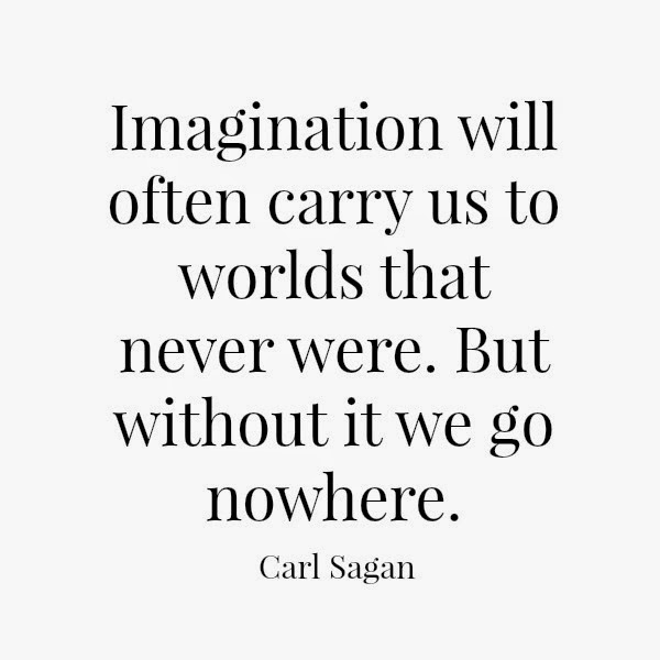 Carl Sagan // Imagination