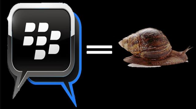 Penyebab dan cara mengatasi BBM lemot atau lambat di Android dan BlackBerry, yang bisa menjadikan BBM lambat, delay, pending, dsb