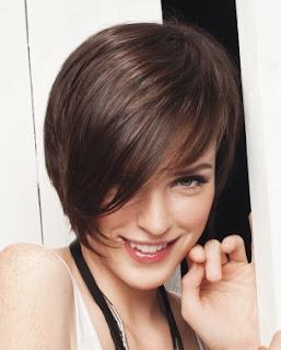 trend rambut pendek Gaya Model Potongan Rambut Wanita 2013