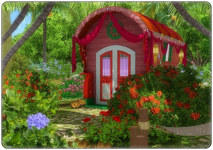 Melissasims3 Gypsy Garden Community Lot
