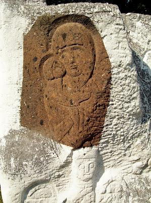 Икона на камне