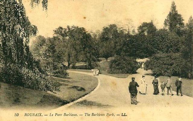 Le parc barbieux dit le beau jardin un parc paysager l for Jardin anglais histoire