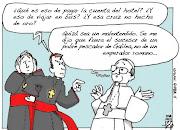 El Papa Francisco descrito en 1 Gran Caricatura papa