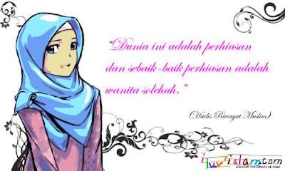 gambar-kartun-muslimah-modern