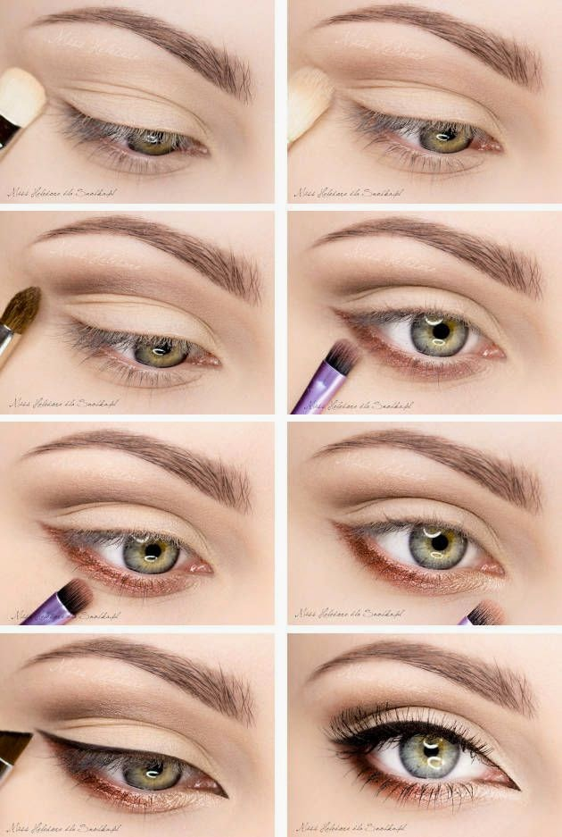 Applying Eye Makeup For Wedding Day : Bridal Eye Makeup: Dos and Donts Eye Makeup