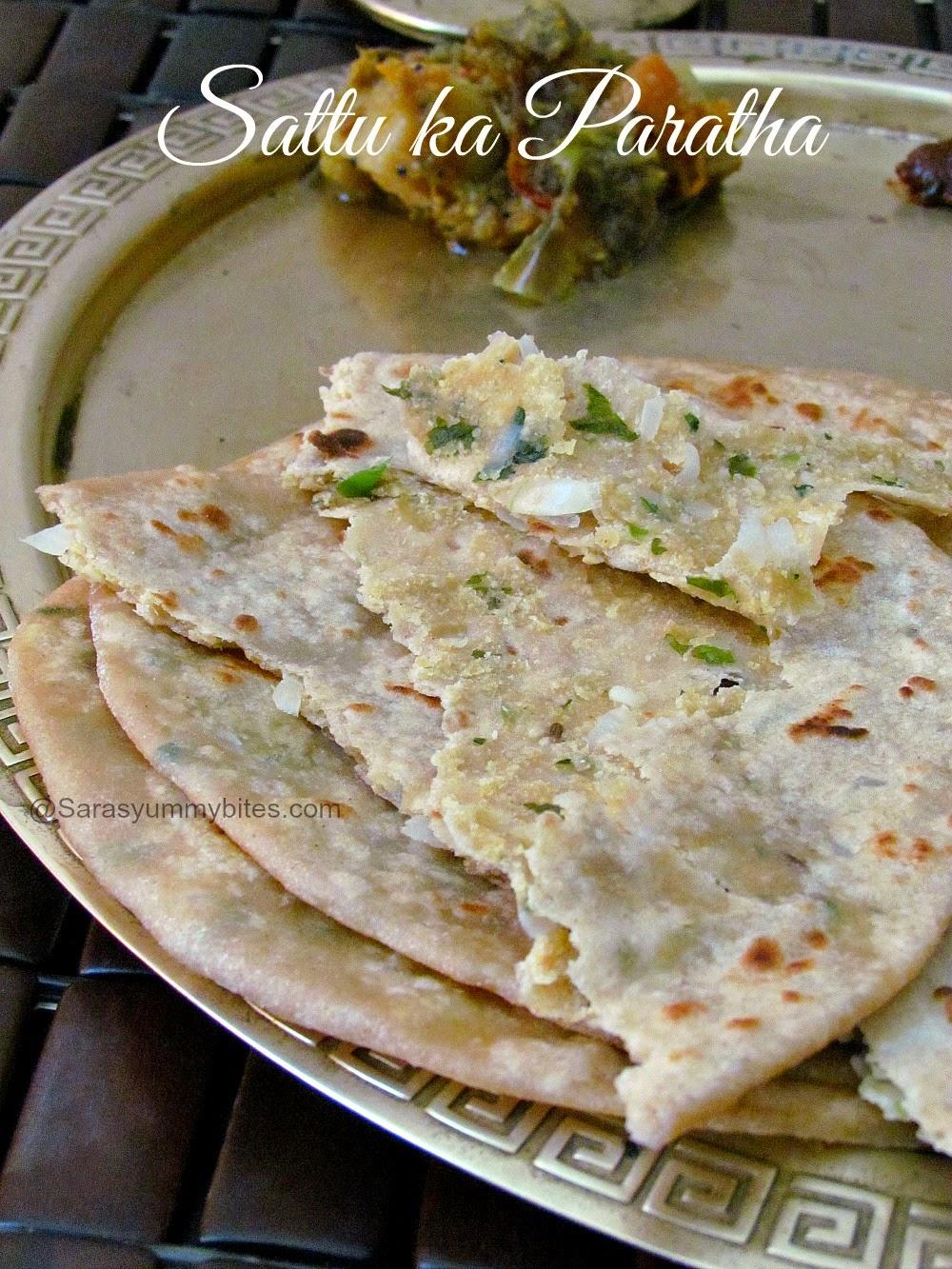 Sattu Ka Paratha ~ Bihari Special Breakfast