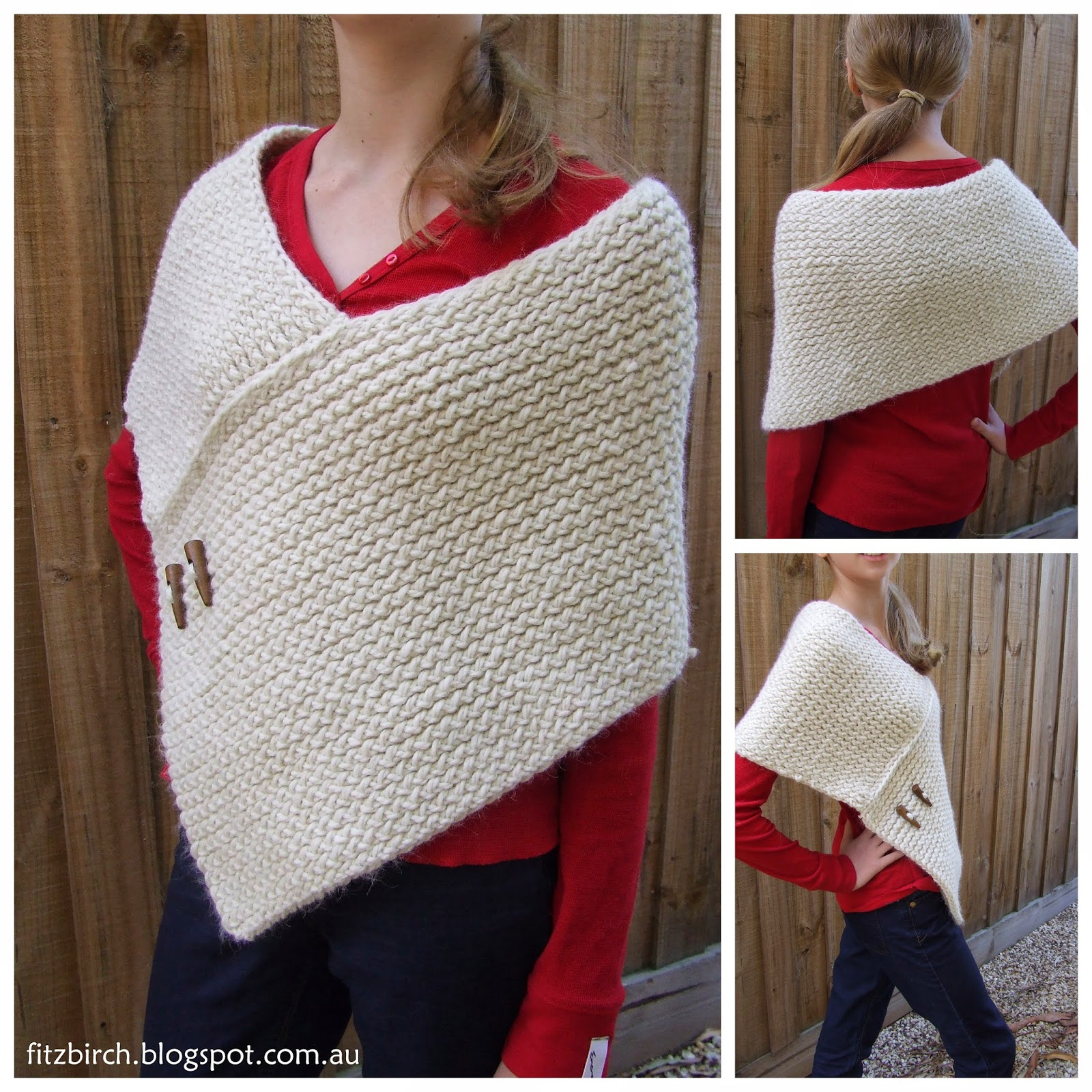 Loom Knitting Free Patterns : Fitzbirch crafts top free wrap patterns