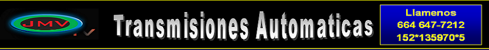 JMV Transmisiones Automaticas