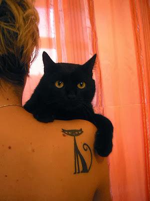Fotos de Tattoos de Gato