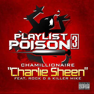 Chamillionaire - Charlie Sheen (feat. Rock D & Killer Mike) [Single] Cover