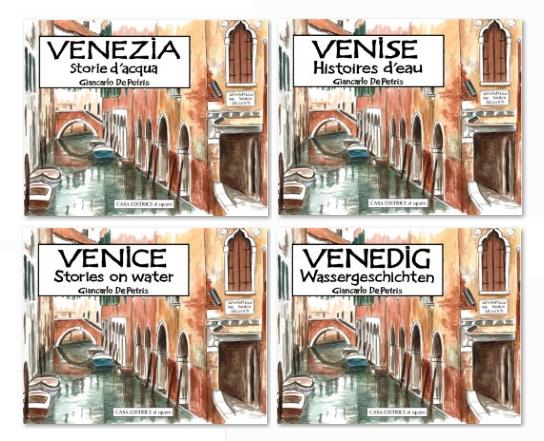 Venezia Storie d'acqua ora in quattro lingue.
