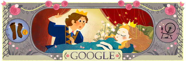 Charles Perrault's 388th Birthday - Google Doodle