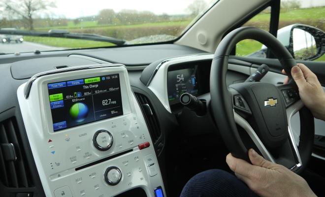 Chevrolet Volt centre console
